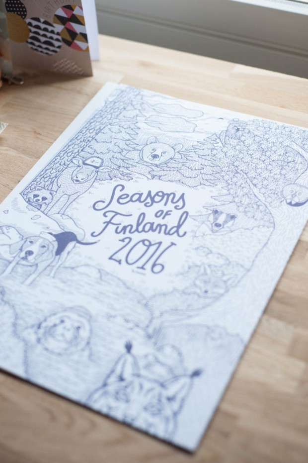 Seasons of finland vuosikalenteri